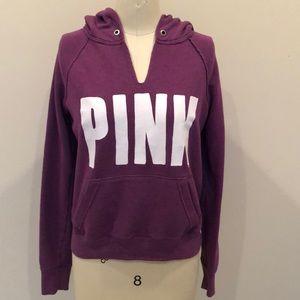 Pink Victoria's Secret Purple Hoodie